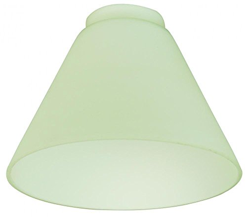 2.25 Neck Frost Opal Bell Shade in White Opal