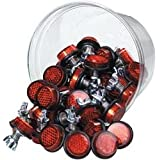 Chris Products Bolt-On Reflectors - Red
