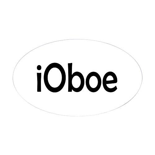 CafePress - Oboe Oval Sticker - Oval Bumper Sticker, Euro Oval Car Decal