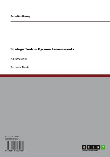 Strategic Tools in Dynamic Environments