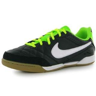 Nike Tiempo Natural IV Leather IC Hallenfußballschuh Kinder