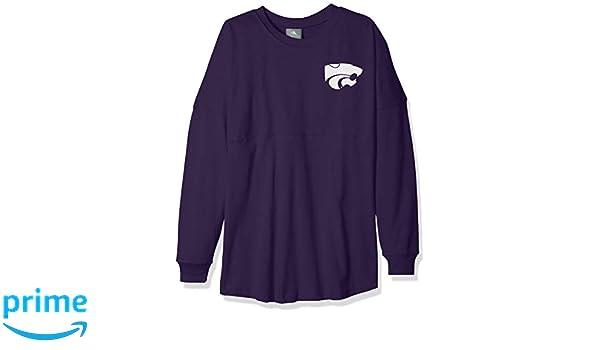 NCAA Kansas State Wildcats Womens NCAA Womens Long Sleeve Mascot Style Teeknights Apparel NCAA Womens Long Sleeve Mascot Style Tee Large Ravens Purple