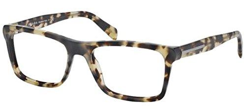 Prada PR06RV Eyeglasses-TFG/1O1 Gray Havana/Matte - Prada Define