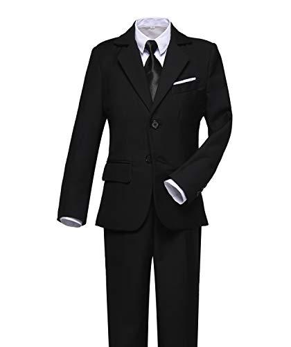 Visaccy Kids Suits Boy Slim Fit Formal Wear