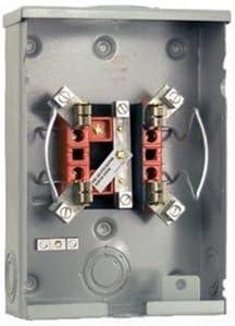 Milbank U5934 Xl Blg 1 Phase Ringless Meter Socket 4 Jaw 1 Position 100 Amp Amazon Com