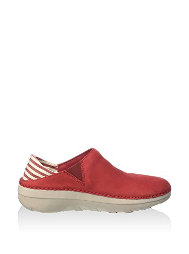 FitFlop™ Superloafer™ (Canvas) 5 UK Classic Red
