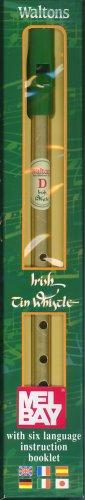 Walton's Irish Tin Whistle, Key of D (English, Spanish, French, Italian, German and Japanese Edition)