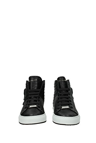 Philipp Plein Sneakers karlson Herren - Leder (MSC0481PLE005N) EU Schwarz