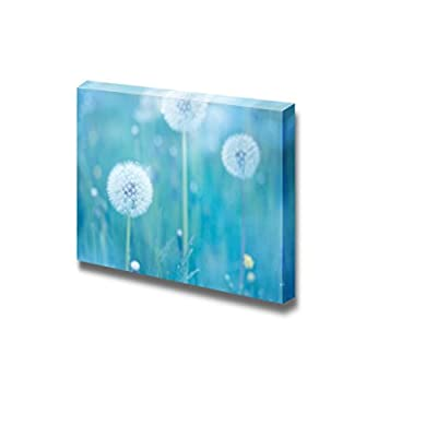 Wonderful Style, Made With Love, Close Up of Dandelion Flowers Wall Decor