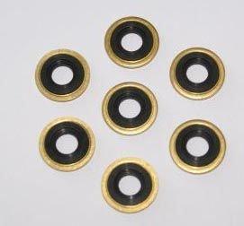 SP Medical Oxygen Regulator Brass Yoke Washer Seals - Pack of 25 ()