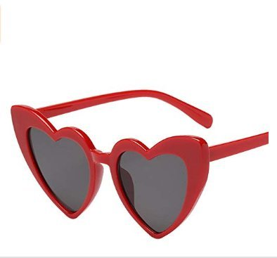 Soleil de Soleil Lunettes et de Soleil Lunettes Femmes red de pour Lunettes Homgomco XqwF1n