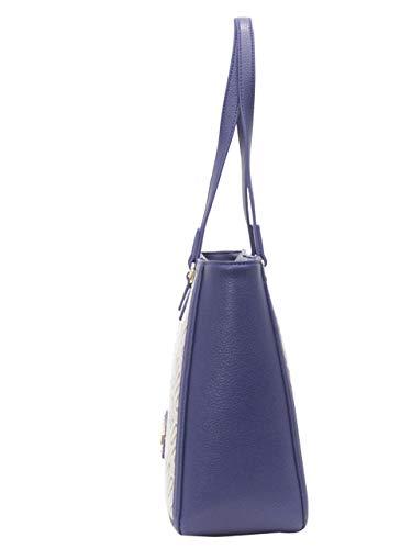 L jacquard w Multicolor Cm H Love Blu pu Moschino naturale 15x10x15 Naturale Mujer X Tess RwxEfFq6