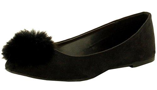 Pom mujer Negro Footwear Pom Refresh Ballet para plano wHpnqZ