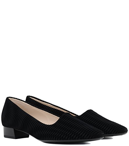 Kaiser Shoes Womens Schwarz Court Peter Lisana fgCqdOfw