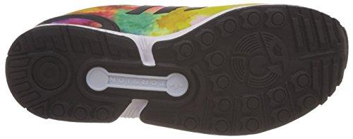 adidas Zx Flux K, Zapatillas Bajas Para Niños amarillo verde naranja
