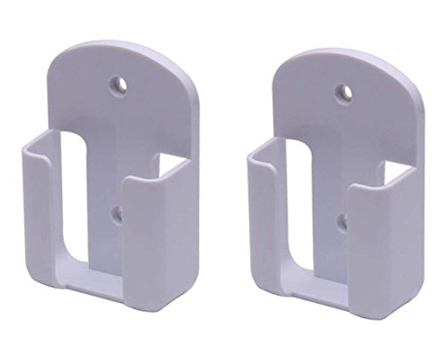 Xhome Remote Control Holder Rack Wall Mount Media Organizer Storage Rack Holder Pack of 2 (S)