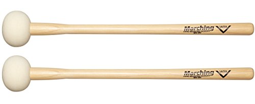 - Vater MV-B4 Marching Bass Drum Mallets, Pair