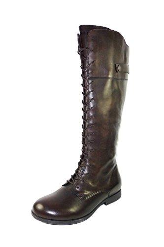 Birkenstock - Botas de Piel para mujer marrón marrón oscuro