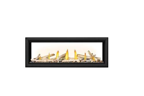 Vector LV50 Direct Vent See-Thru Gas Fireplace Package2 - NG