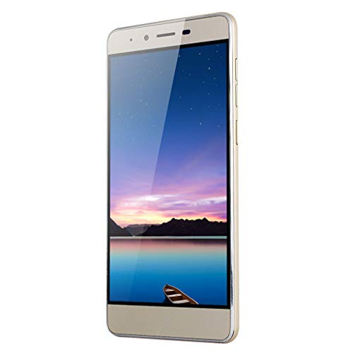- NDGDA, 5.0'' Ultrathin Android 5.1 Quad-Core 512MB+4GB GSM 3G WiFi Dual Smartphone (Gold)