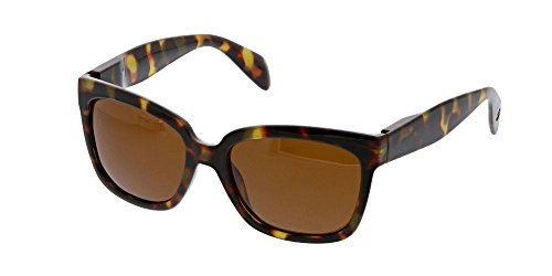 Peepers Women's Palmetto Sun Polarized Square Sunglasses, Tortoise, 56 - Sunglasses 2017 Ladies