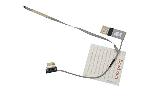 Eathtek Replacement LCD LVDS Flex Video Cable for Dell Inspiron 17 3721 17R 5721 series, Compatible with part# DC02001MH00 0249YD 249YD Series Lcd Video Cable