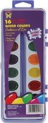 Bulk Buy: Monstrose Colors Semi Moist Washable Water Colors 16/Pkg MP117 (6-Pack)