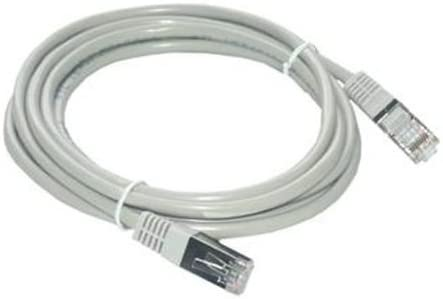 15 m CAT 5e F//UTP Patch Cable with RJ45 plug in grey FCC5EBM-15M