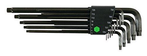 Arm Torx - Wiha 36699 Torx Long Arm L-Key, T5 - T50, 13-Piece Set by Wiha
