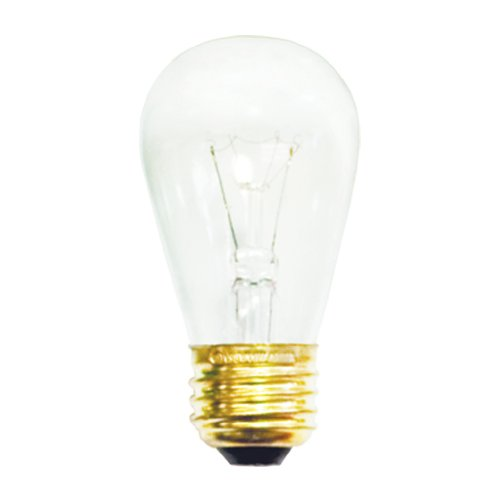 Bulbrite 701111 - 11S14C - 11 Watt S14 Clear Sign Bulb - 20 Pack Size: 20 Pack Style: Clear Incandescent Bulb, Model: 11S14C, Home/Garden & Outdoor Store