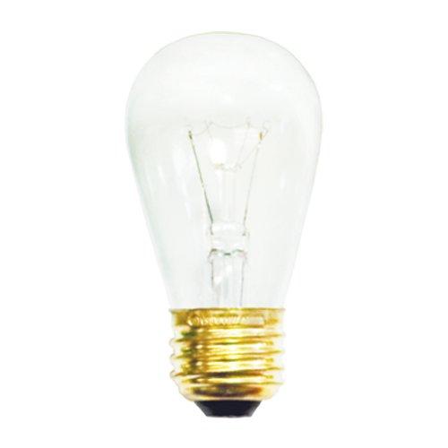 10 Pk. Bulbrite 11S14C 11W S14 SIGN CLEAR Bulb ()