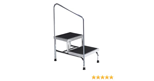 Outstanding Amazon Com 2 Step Steel Step Stool With 600 Lb Load Short Links Chair Design For Home Short Linksinfo