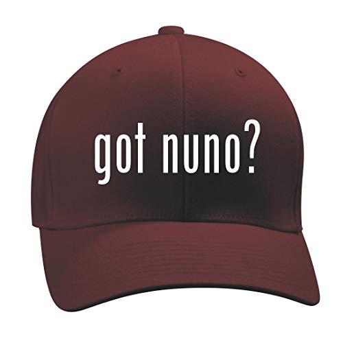 got Nuno? - A Nice Men's Adult Baseball Hat Cap, Maroon, Small/Medium