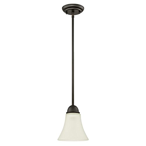 Pendant Lighting Bronze Glass in US - 6