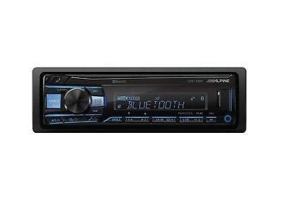 Alpine UTE-73BT Advanced Bluetooth Mech-less Digital media receiver (does not play CDs) ()