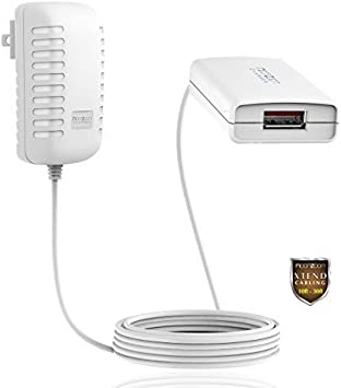 Sunset Natural 3 in 1 Multiple USB Stretch Charger Cord with Micro,Type C,iOS Connectors with Cell Phone Tablets More