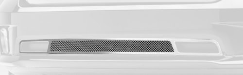 T-Rex 52458 Upper Class Steel/Black Finish Small Formed Mesh Bumper Grille Overlay for Dodge RAM 1500 (Fine Mesh Style Grille)