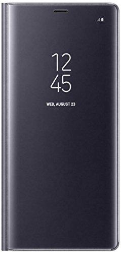 Samsung Note 8 Clear View Standing Cover - Funda para Samsung Galaxy Note 8, color gris orquídea- Version española