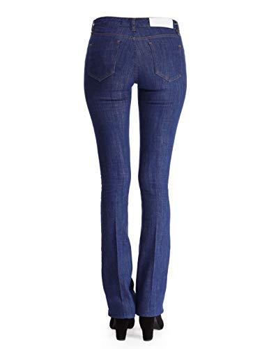 Vb227blu Jeans Victoria Cotone Donna Beckham Blu r5rwtxzCq