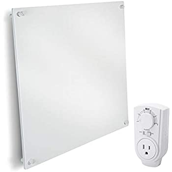 Wall Mount Space Heater Panel With Thermostat 400 Watt
