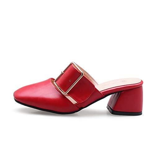 Red Sandales 5 Femme Rouge 36 EYR00350 Compensées Aimint zwqRA8