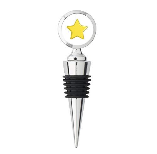 Good Job Gold Star Steel Bottle Stopper Winestopper ()