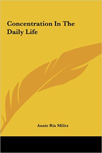 Download Concentration In The Daily Life PDF, azw (Kindle), ePub, doc, mobi
