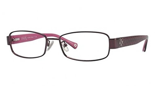 Coach Taryn Eyeglasses HC5001 9022 Burgundy Demo Lens 52 16 135 by Coach