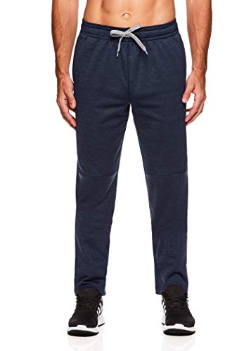 HEAD Men's Running Pants - Performance Athletic Workout & Training Sweatpants - Starting Line Up Cool Grey Heather, Large
