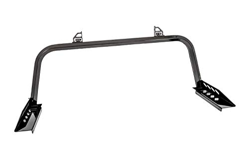 Dee Zee DZ95054RB Gloss Black Rear Aluminum Truck Rack
