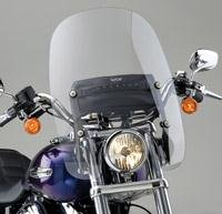 (07-14 HARLEY FXDB3: National Cycle Spartan Quick-Release Windshield)