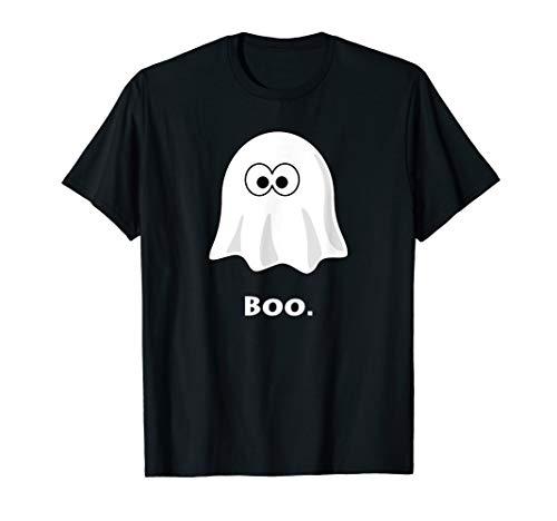 Funny Halloween Ghost Boo T-Shirt -