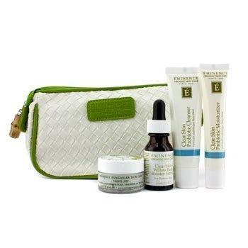 Eminence Clear Skin Starter Set (For Acne Prone Skin) - Prone Skin Kit Acne