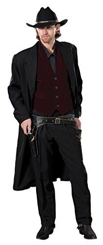 [Deluxe Western Gunslinger Costume- Theatrical Quality (XL)] (Deluxe Gunslinger Costume)